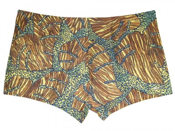 Badehose durchbäunend Panty Gr. 5 Dschungel in hellbraun