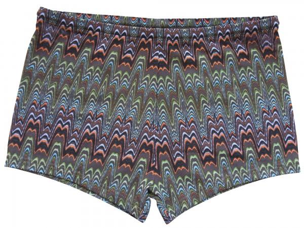 Badehose durchbäunend Panty Gr. 5 Wellen in dunkelbraun