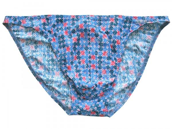 Badehose durchbäunend Micro-Slip Gr. 4 Punkte in blau