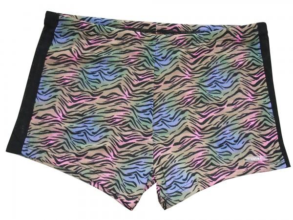 Badehose durchbäunend Panty Wellen in lila