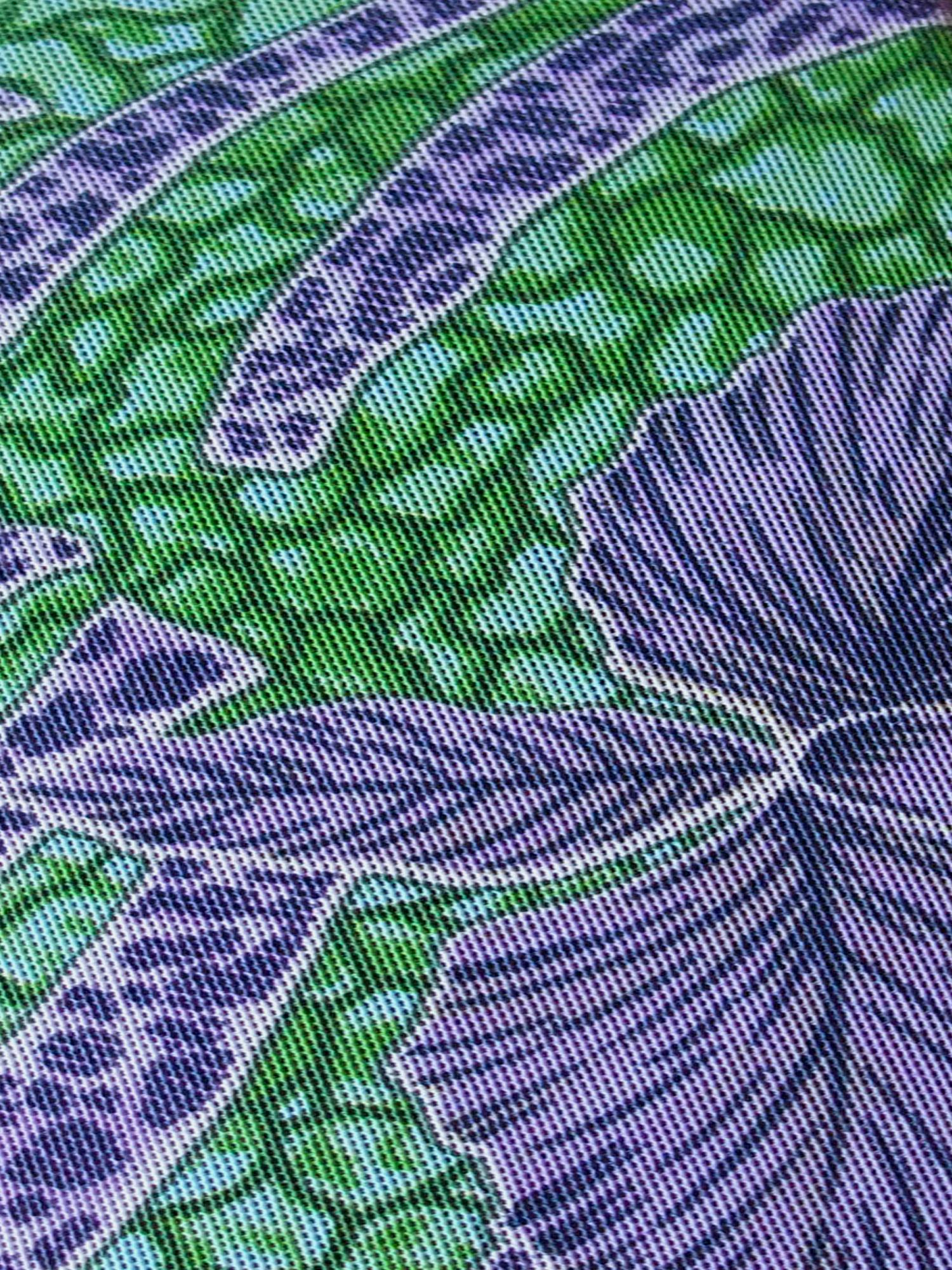 4c68ae052a656d ... Vorschau: Bügel-Badeanzug durchbäunend B-Cup oder C-Cup Blüten in grün