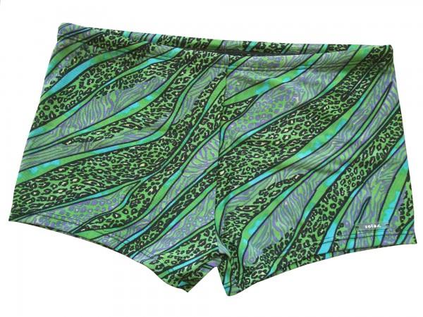 Badehose durchbäunend Panty Gr. 5 Leostreifen in grün