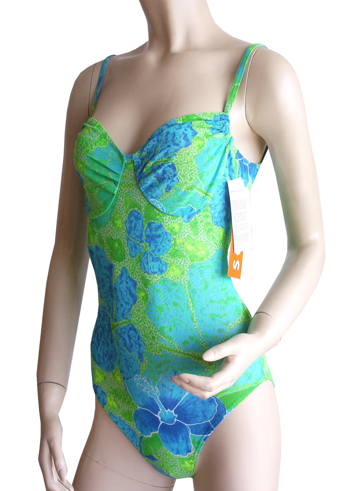 50dd583f219ec5 Badeanzug, Softcups mit Cupband von Solar Tan Thru durchbäunend Gr ...