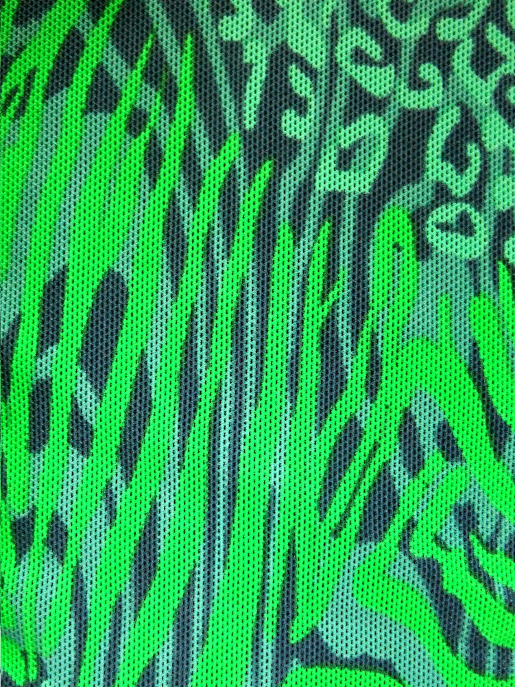 bf29530972d11f ... Vorschau: Badeanzug durchbäunend sportlich Gr. 42 B-Cup grün/orange