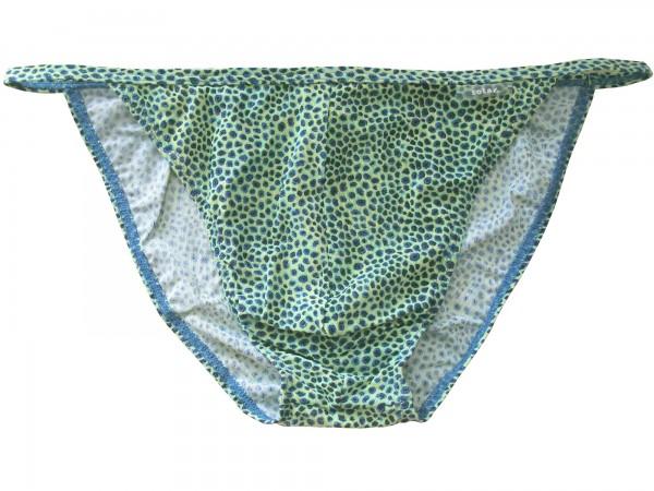 Badehose durchbäunend Micro-Slip Gr. 7 Punkte in grün