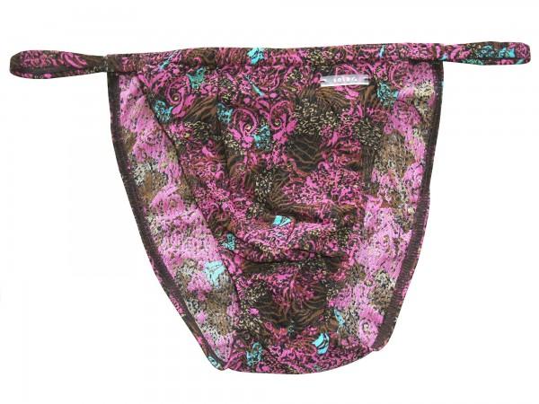 Badehose durchbäunend Micro-Slip violett/braun