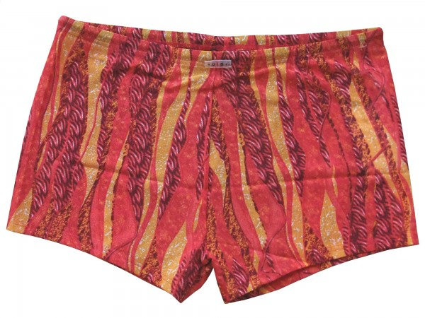Badehose durchbäunend Panty Gr. 8 Flammen in rot/gelb
