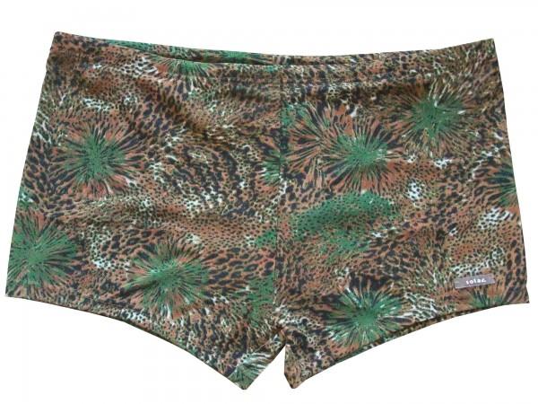 Badehose durchbäunend Panty Gr. 5 Palmen in braun/grün