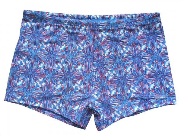 Badehose durchbäunend Panty Gr. 5 Sterne in blau